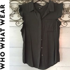 Fun & flirty black shirt